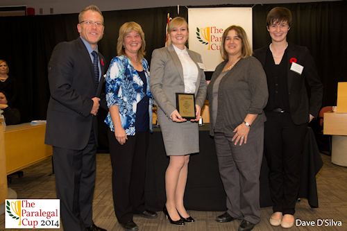 Paralegal Cup PREP Network Oral Advocacy Award recipient, Jade MacDonald - Algonquin Careers Academy