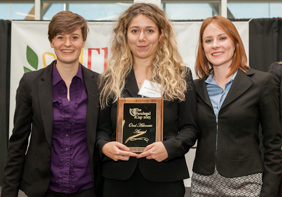 2015 Paralegal Cup 2nd Top Distinguished Oral Advocate Award, Alexandra Portnoy - Seneca College