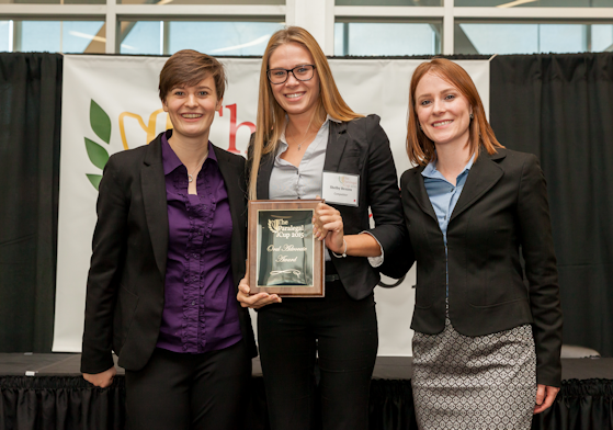 2015 Paralegal Cup 5th Top Distinguished Oral Advocate Award, Shelby Brezen - Seneca College