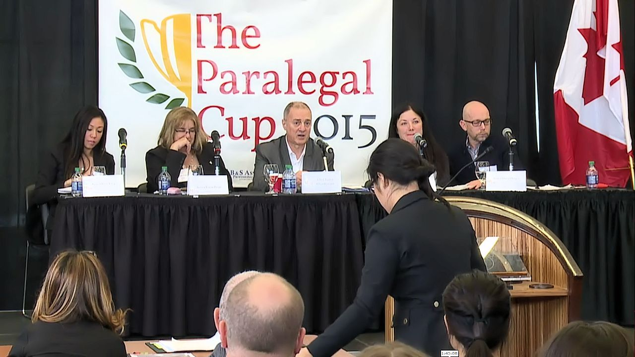 The 2015 Paralegal Cup Finals