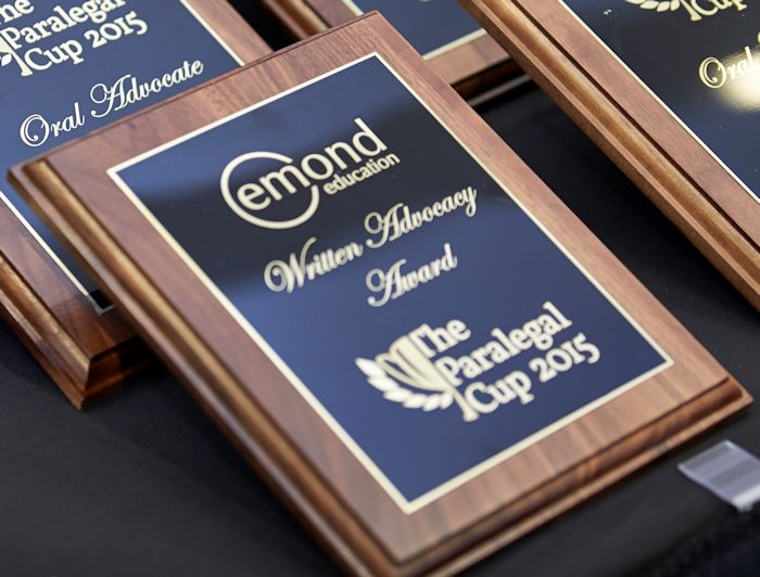 Paralegal Cup Emond Publishing Written Advocacy Award