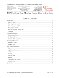 2015 Competition Guidelines
