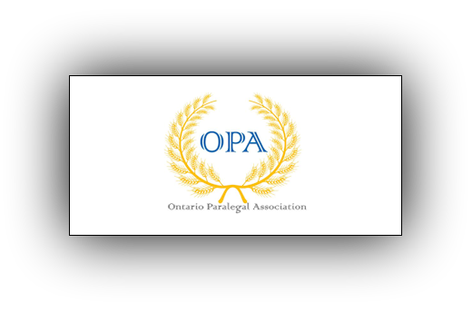 Ontario Paralegal Association - OPA